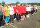 Белореченские ветераны вместе занимаются физкультурой