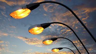 Заменили перегоревшие лампы