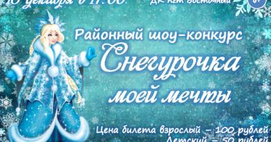 Снегурочка моей мечты