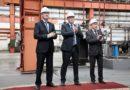 Игорь Васильев принял участие в запуске нового оборудования завода «ОЦМ»