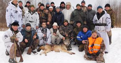 С начала года охотники добыли 279 волков