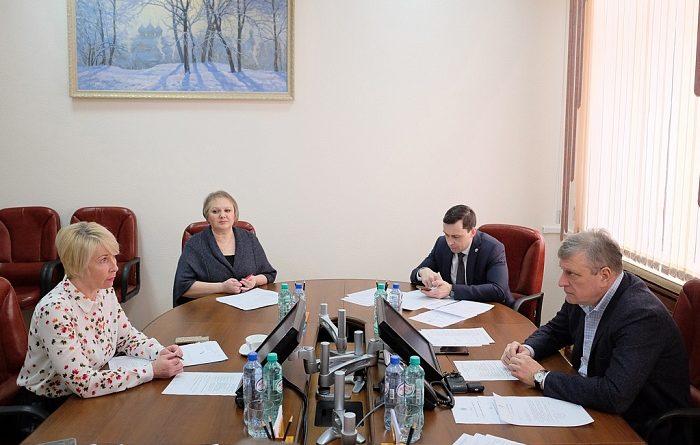 Игорю Васильеву доложили о мерах по нераспространению COVID-19 в Кирове